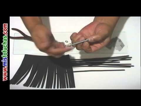 Cómo cortar cientos de pelos en foamy para muñecas fofuchas rapidísimo