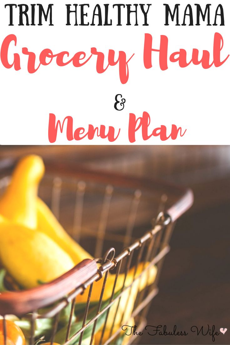 Here's a Trim Healthy Mama compatible grocery haul and menu plan! This will help you save time and money. It will also give you inspiration!