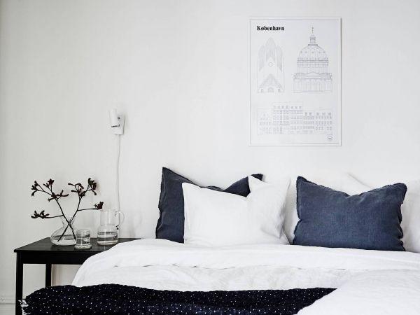 Inspiratieboost: minimalistische kunst boven je bed