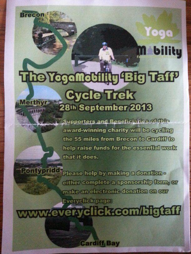 Please support Tim Watkins and Julia Kaye who are cycling 55 miles from Brecon to Cardiff for a very good cause! #L4G There is a story to this... http://www.2020bclive.net/showthread.php?1777-Charity-Bike-Ride ... you can also donate here... http://www.everyclick.com/bigtaff
