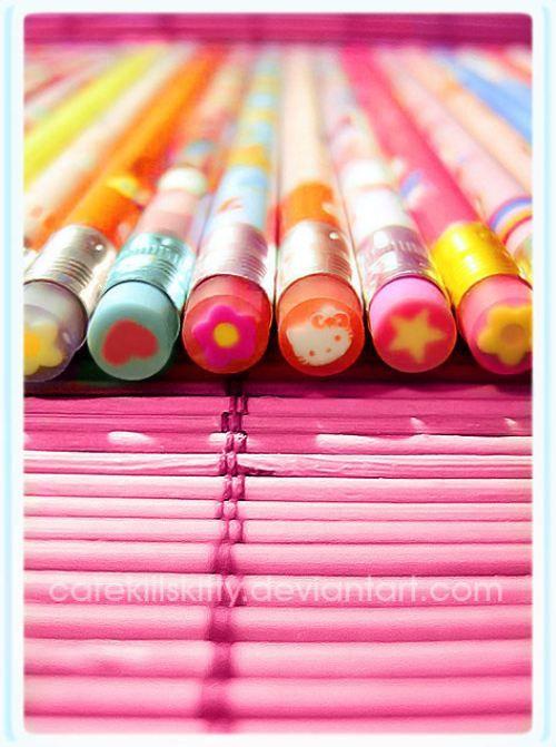 #消しゴム付き鉛筆 #pencils