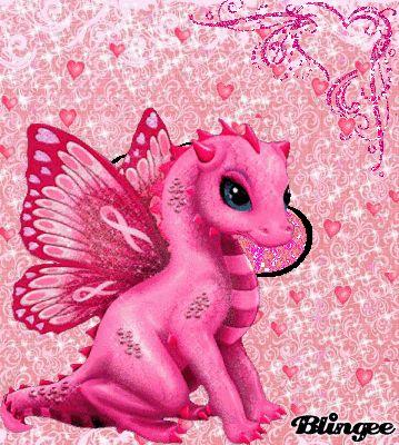 Dragon Pink Baby Dragon Pink