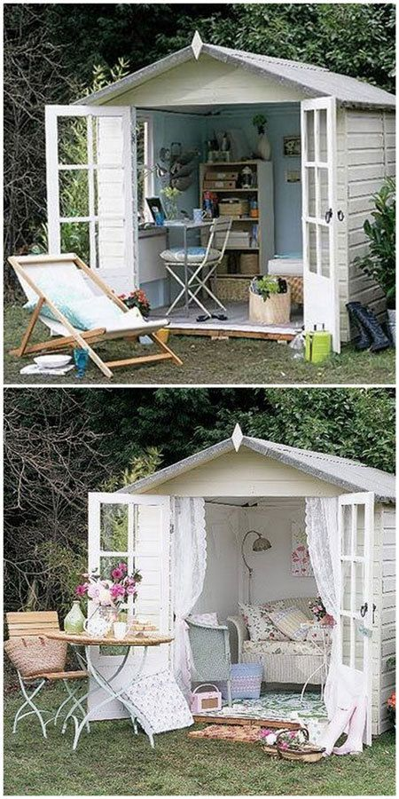13 best She Shed Ideas images on Pinterest Garden houses, Cabana