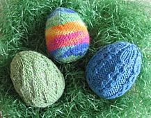 Ravelry: Eggstra Special Easter Eggs! (AC-020) pattern by Lisa Carnahan