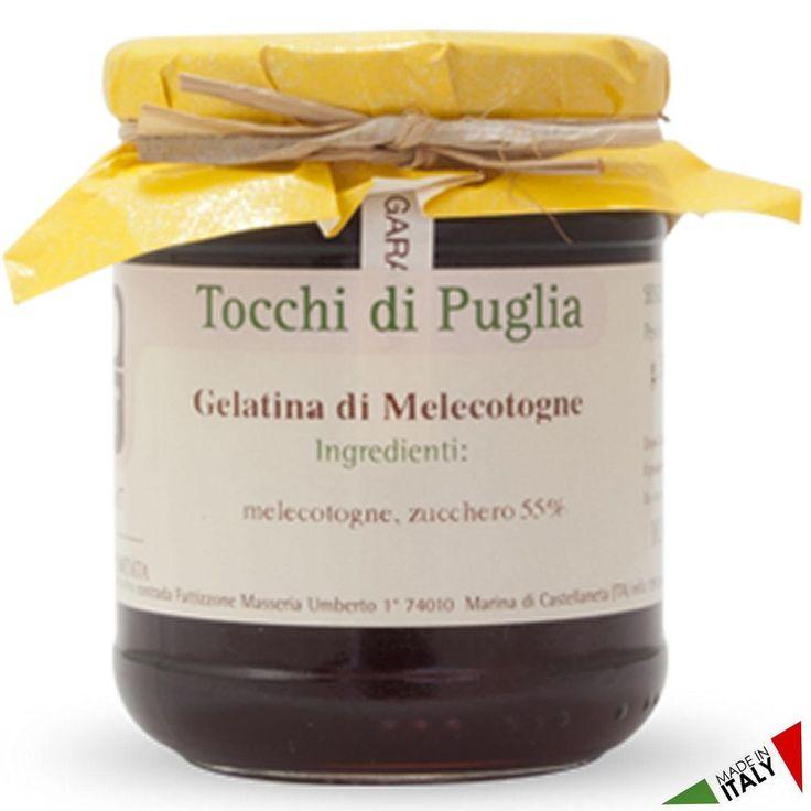 GELATINA DI MELECOTOGNE GR 300 TOCCHI DI PUGLIA  (070913)