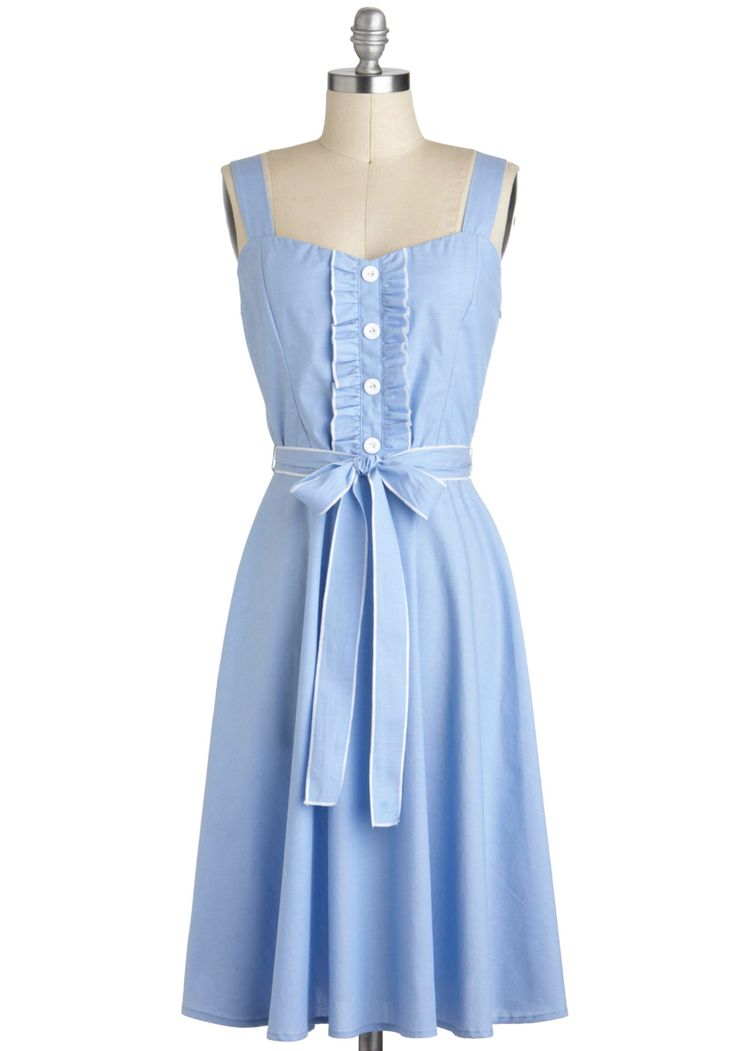 25+ best ideas about Sky blue dresses on Pinterest | 50s ...