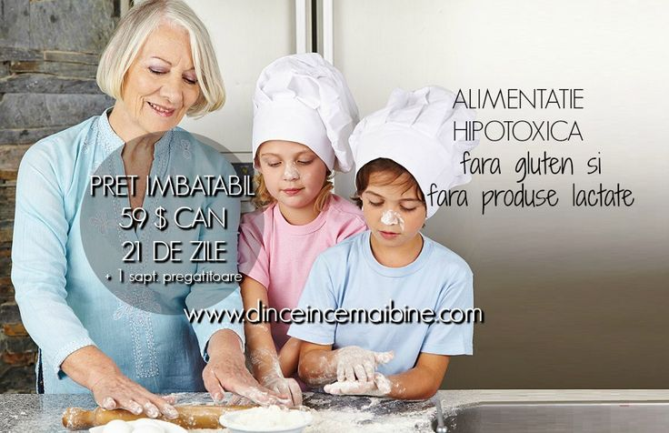Photo Alimentatie hipotoxica Canada, fara gluten si fara produse lactate