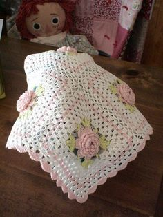 pink n white rose squares; inspiration for me, because I don't read Japanese.