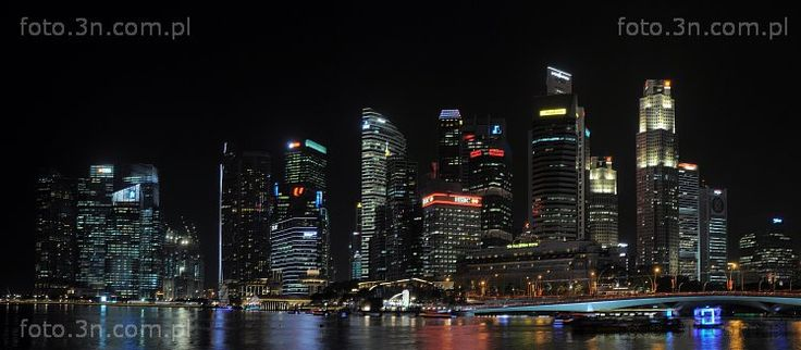 Singapore (Asia,  Singapore,  city,  bay,  skyscraper) photos. Pictures for graphic projects, calendars, postcards and Internet.