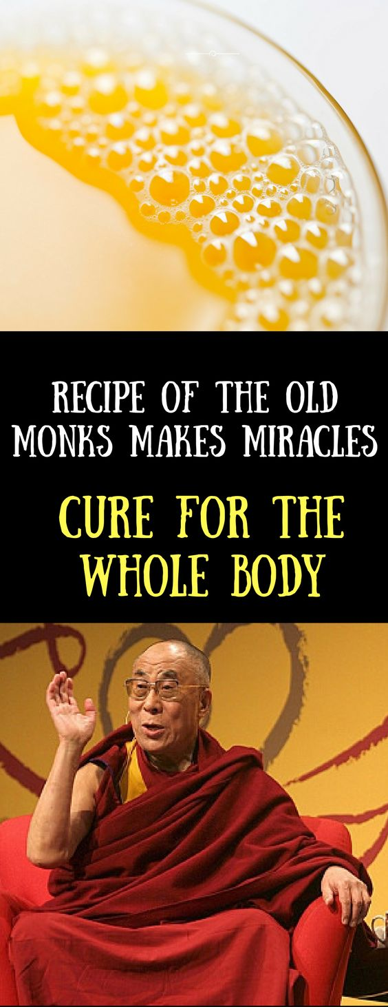 Recipe Of The Old Monks Makes Miracles: Cure For The Whole Body