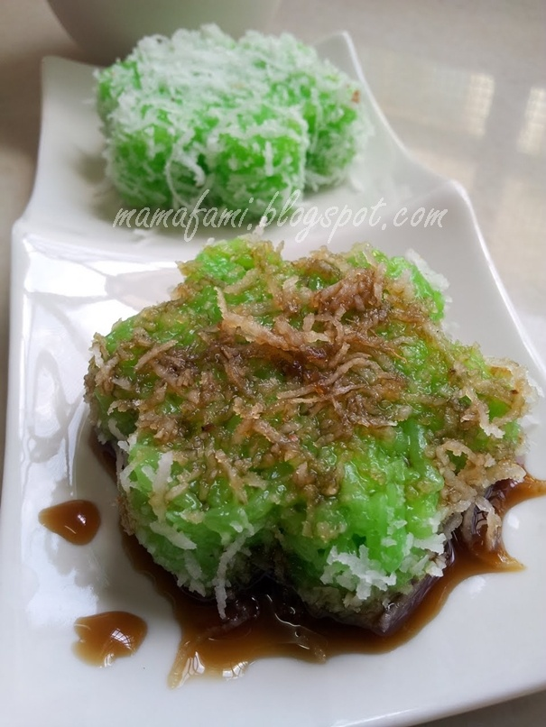 Malay dessert: Kuih Lopes
