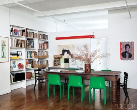Who says neutral walls can't be bold?