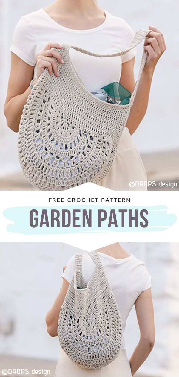 Crochet Bags Free Patterns Crochet Bag Pattern Free Crochet Boho Bag Crochet Garden