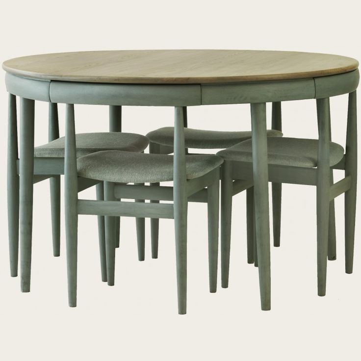 Best 25 painted round tables ideas on pinterest for Painted round dining table and chairs