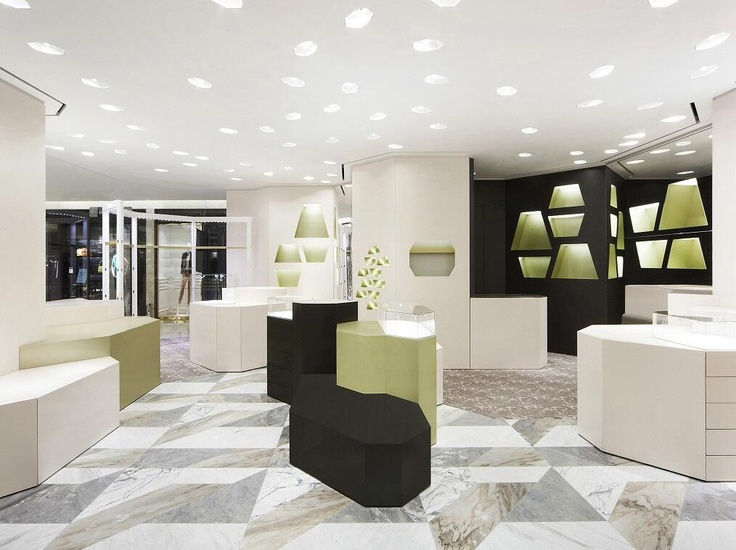 17 best images about balen on pinterest architecture for Balenciaga new york store