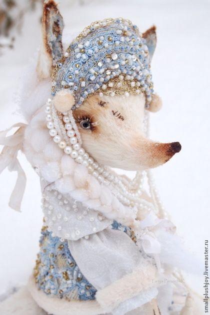 Необычная Снегурочка. Красавица лисичка Белль — работа дня на Ярмарке Мастеров