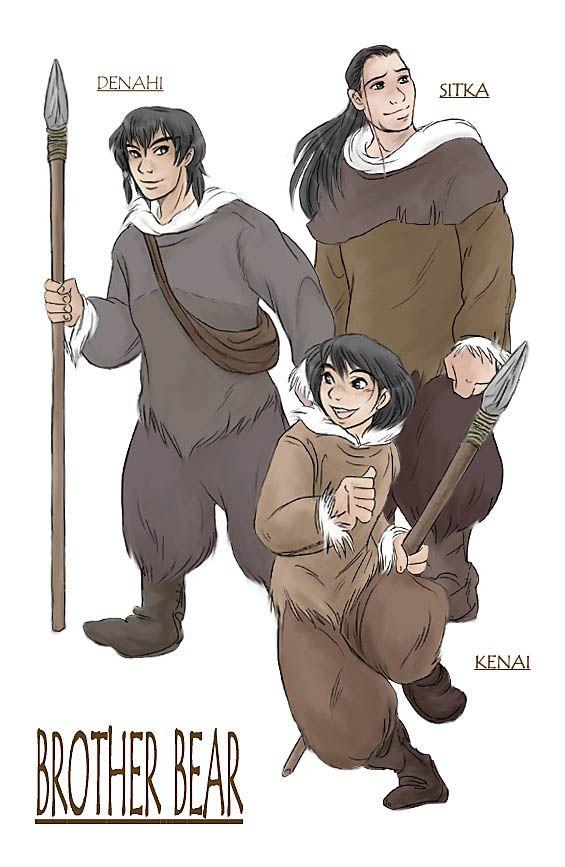 "*DENAHI, SITKA & KENAI ~ ""WE ARE THREE BROTHERS"", by shibu on DeviantArt"