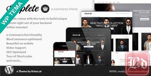 ThemeForest – Replete v4.0 – e-Commerce and Business – 3519946