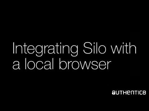 "Silo users can launch web apps directly in Silo by clicking single sign-on (SSO) links in their local browser. ""By bridging the gap between Silo and the local browser, we wire ourselves into the natural workflow of our users,"" says Ramesh Rajagopal, co-founder and President of Authentic8. ""Users are primarily thinking about accessing their apps. Admins are thinking about securing the environment. A single sign-on portal in the local browser that launches apps in Silo meets the needs of…"