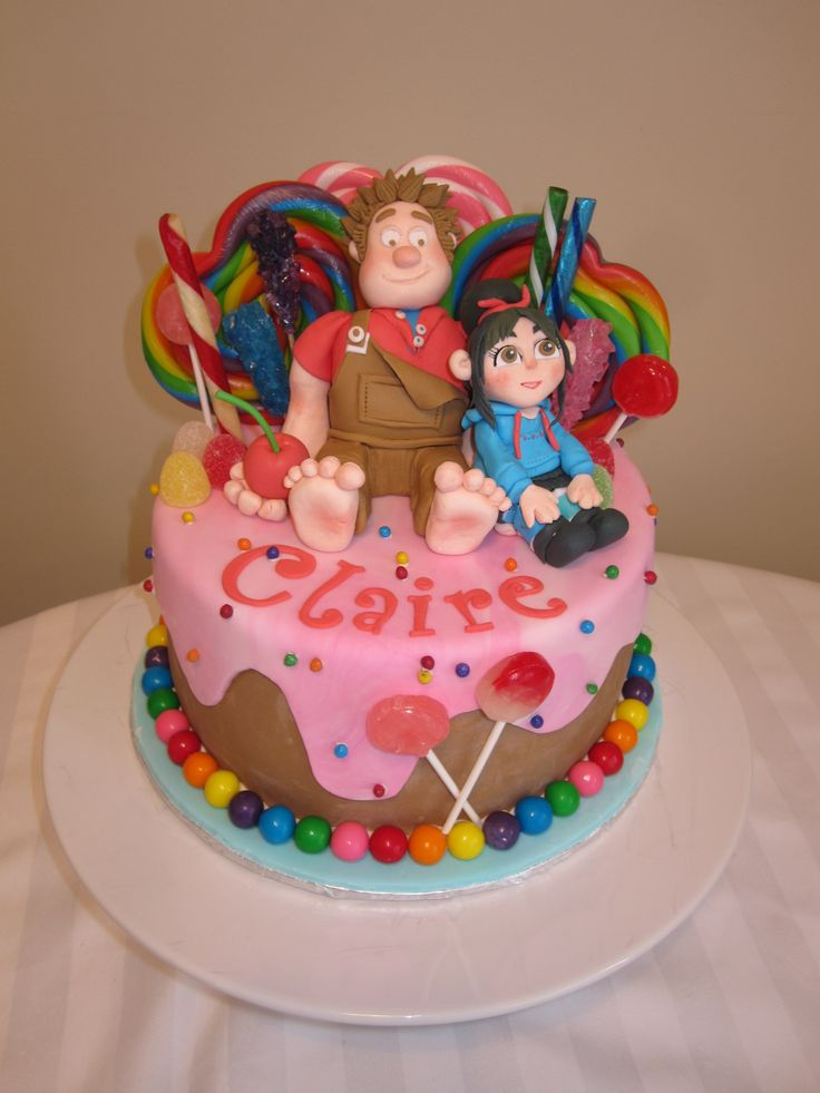 Wreck It Ralph Cake Images