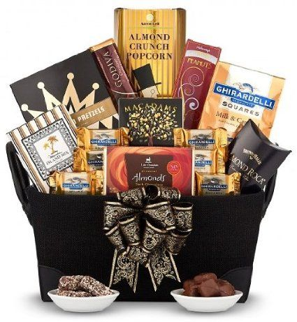 Gourmet Gift Basket for Men. Holiday Christmas Gift Baskets Ideas. Christmas Gift Present for Him. Xmas Gift Basket on Sale Assortment for a Man – Delivery By Mail.