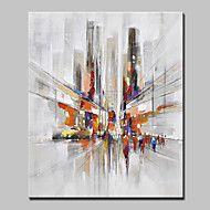 Pintados à mão Paisagem Paisagens Abstratas Vertical,Moderno Estilo Europeu 1 Painel Tela Pintura a Óleo For Decoração para casa