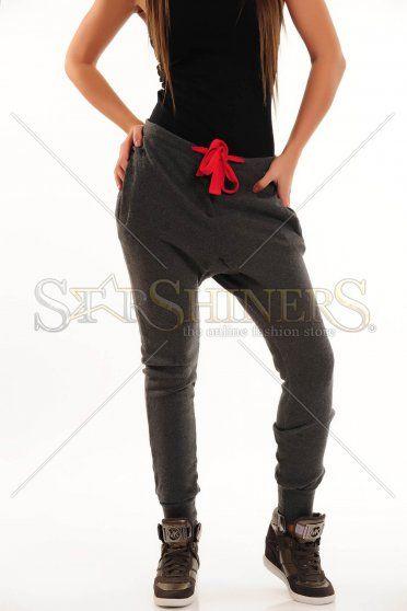 Pantaloni PrettyGirl Daily Use Grey