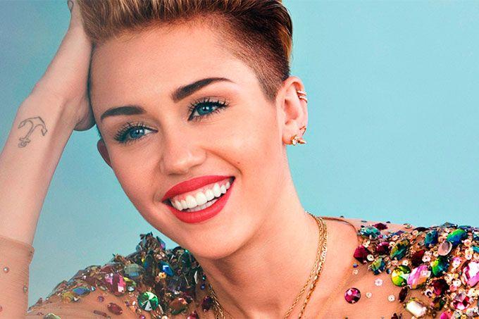"""La imagen: mira cómo celebró Miley Cyrus """"El Día del Beso Robado"""""""