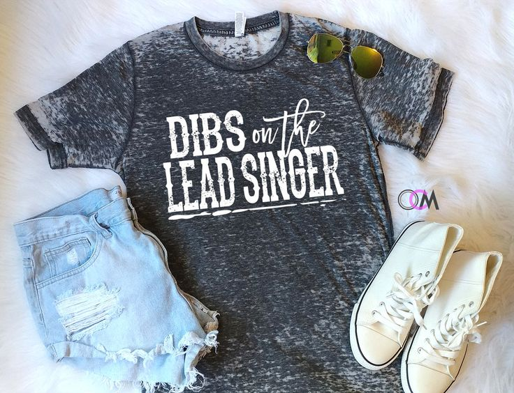 Dibs on The Lead Singer, Country Concert Shirt, Concert Shirt, Band Shirts, Groupie Shirt, Festival Shirt by 1OneCraftyMomma on Etsy