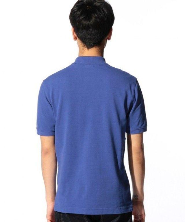【◎SUPIMA/C LOGO ポロシャツ S/S】グリーンレーベル リラクシングオリジナルのポロシャツが胸元のア…