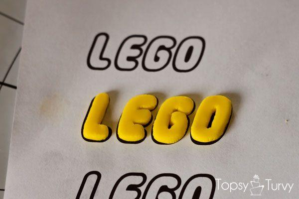lego-head-cake-tutorial-logo-drying by imtopsyturvy.com, via Flickr