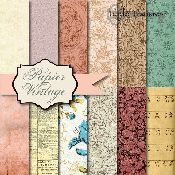 Buy 2 Get One Free Instant Download  Papier by TanglesTreasures, $4.50