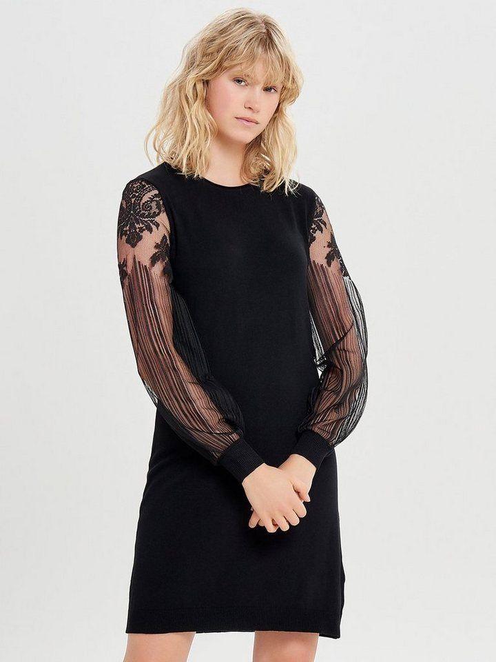 Only Spitzen Kleid, Einfarbig online kaufen | OTTO ...