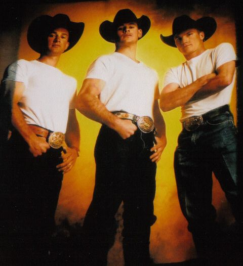 My Fav Mike White Far Left As A Young Bull Rider Also
