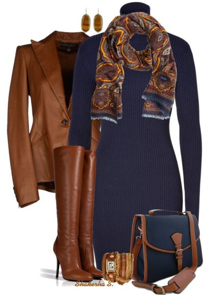 fancy navy blue jumper outfit jacket