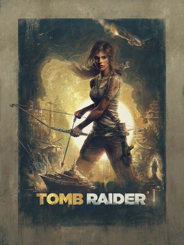 Limited Edition Tomb Raider (M) art prints spruce up even the barest islands.