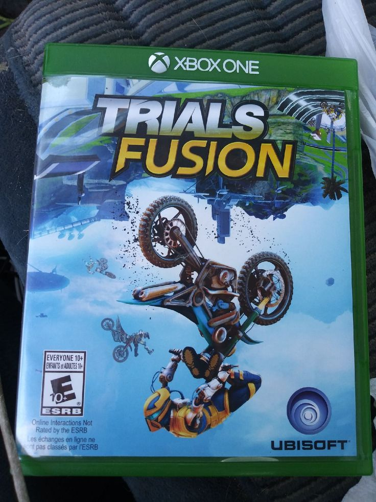 Trails fusion game for xbox one . no scratches on the disc