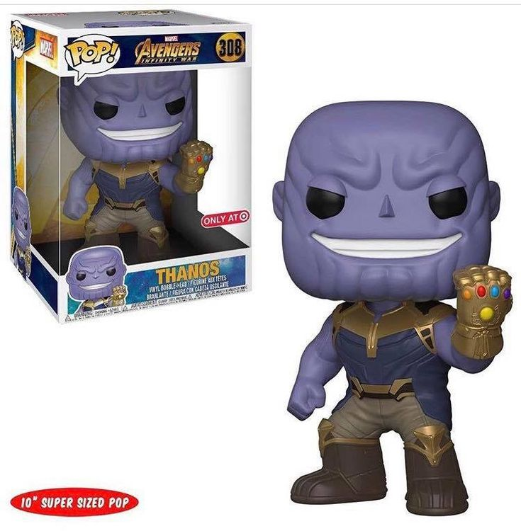 Super Sized Thanos Pop Vinyl Coming Soon To Target