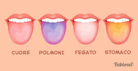 Le condizioni dei polmoni possono essere rivelate dal colore della lingua!