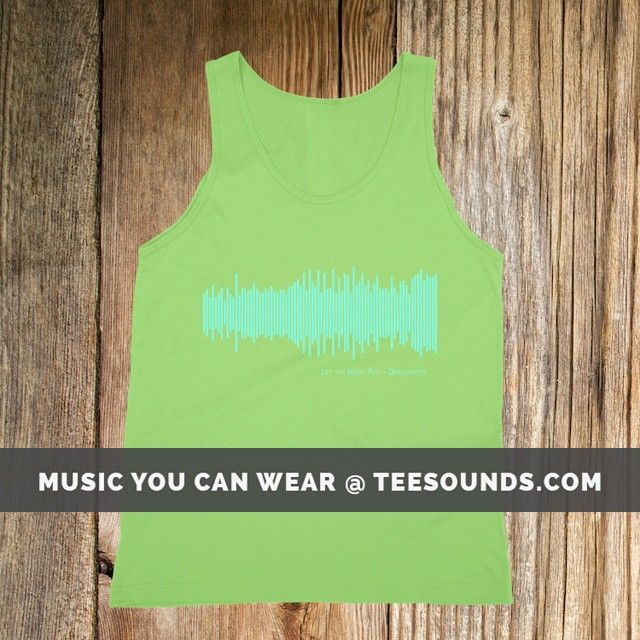 Let The Night Fall by Dragonette  Design your own @ teesounds.com  ONLY $28 WITH FREE WORLDWIDE DELIVERY