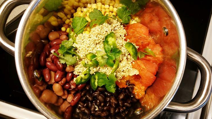 One-pot-quinoa. Vegan & glutenfree.