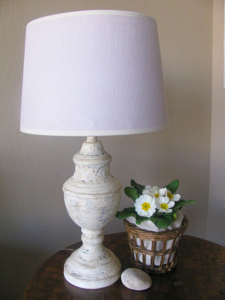 I love, love, love these gorgeous lamps from Pottery Barn.   But being cheap  a true DIYer I decided to make my own version.   They are n...