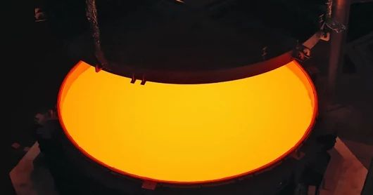 Secondary Mirror of ELT Successfully Cast The casting of the secondary mirror blank for ESO's Extremely Large Telescope (ELT) has been completed by SCHO... - Tomasz Nowakowski (Astro Watch) - Google+