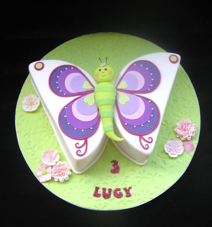 Cake Images Butterfly : 25+ best ideas about Fondant butterfly on Pinterest ...