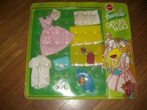 Barbie-abito-Francie-get-ups-039-n-go-anni-70-vintage-mod-era