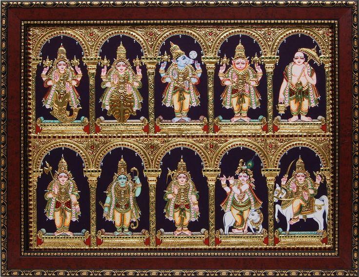 Painting Masterpieces - Dasha Avataram
