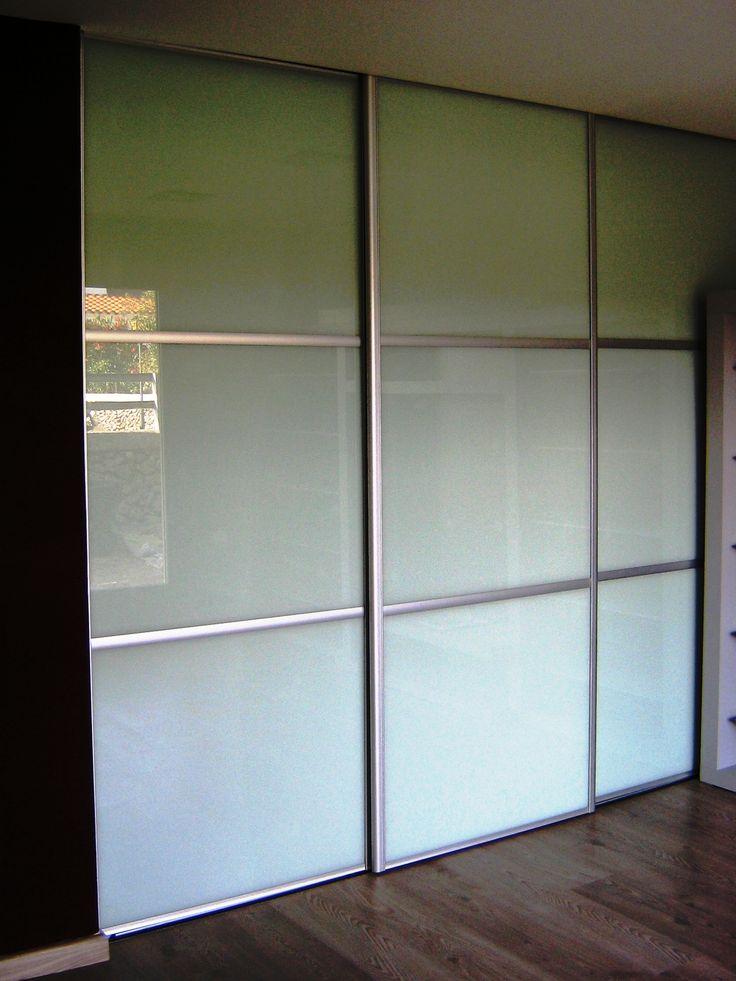 M s de 25 ideas incre bles sobre puertas correderas de - Perfil aluminio blanco ...