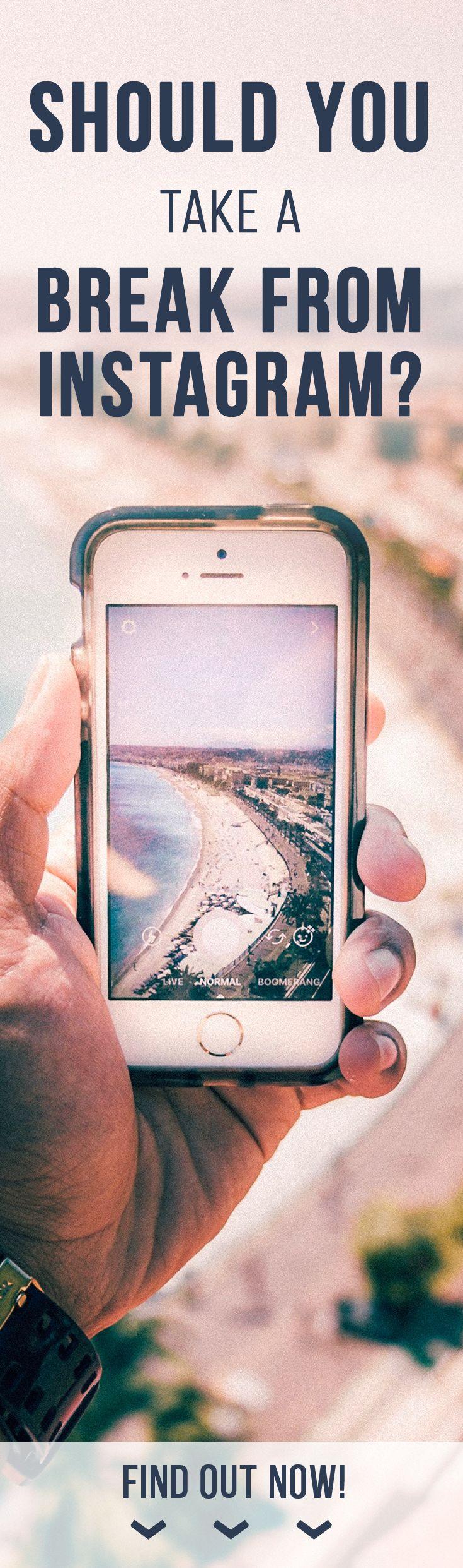 Instagram, Take a break, Social media detox, Pause from social media, Instagram followers. #vibrantsloth #takeastepback #freedom #motivation #choices #justdoit #yes #inspiration #fakestagram #staypositive #behappy #dayoff #metime #improveyourself #improveyourlife