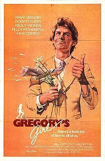 """Imagine if John Hughes were Scottish: Gregory is a boy on the soccer team whose place is taken by Dorothy. Gregory likes Dorothy, but she's too popular for him. Can he beat the odds? Written and directed by Bill Forsyth (""""Local Hero"""")."""