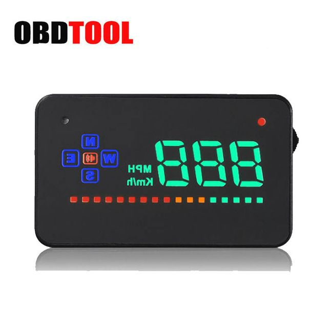 Best Price $22.40, Buy GPS Car HUD Head Up Display 3.5 inch Car Driving Computer Projector Overspeed Alarm OBD II Head-up Display Interface JC20